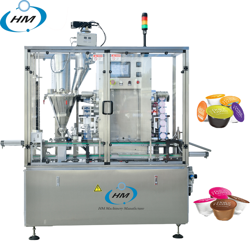High speed Dolce gusto coffee filling sealing machine factories