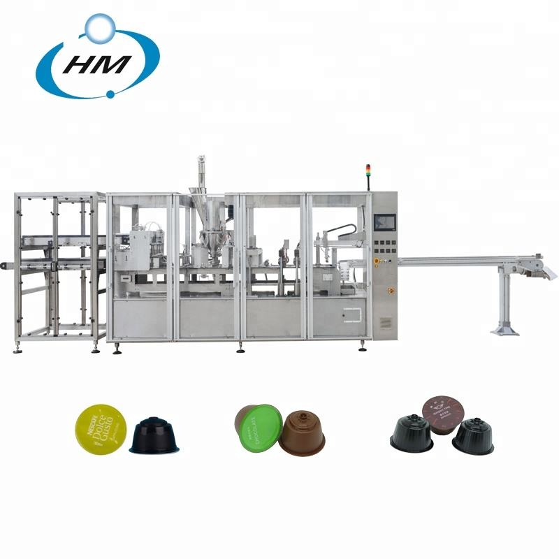 Coffee Kcup capsule making machine coffee filling packing machine for sale