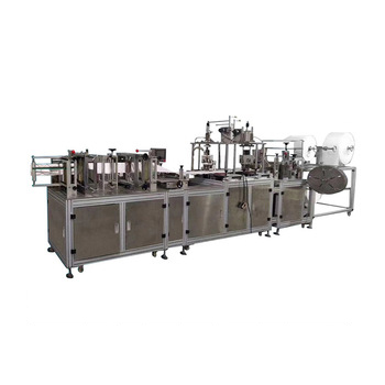 Full Automatic n95 mask machine Disposable Surgical Medical Face Mask Making production Machine mask