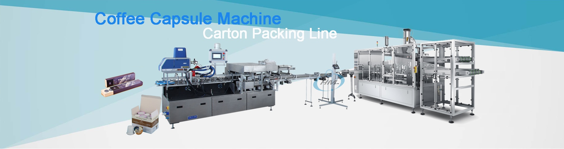 Coffee Capsule Production Line/ KCUP Carton Packing Line