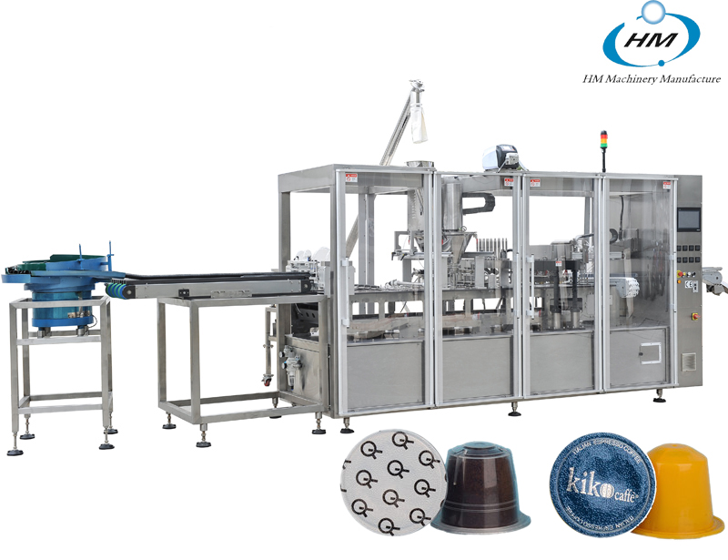 HSP-4 Newest Nespresso production Line with box packing machine