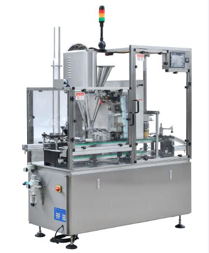 HSP-1 Single Lanes upshot Coffee capsule Filling and Sealing Machine