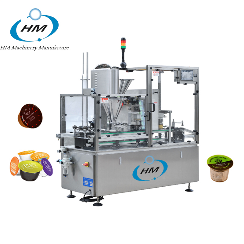 HSP-1 Single Lanes Kcup/ Lavazza/ Nespresso Filling Sealing Machine
